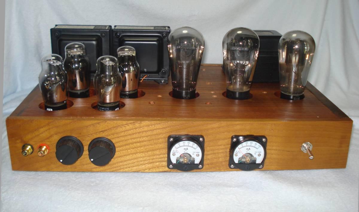 【自作】 直熱三極管 245(ナス管の45) シングルアンプ
