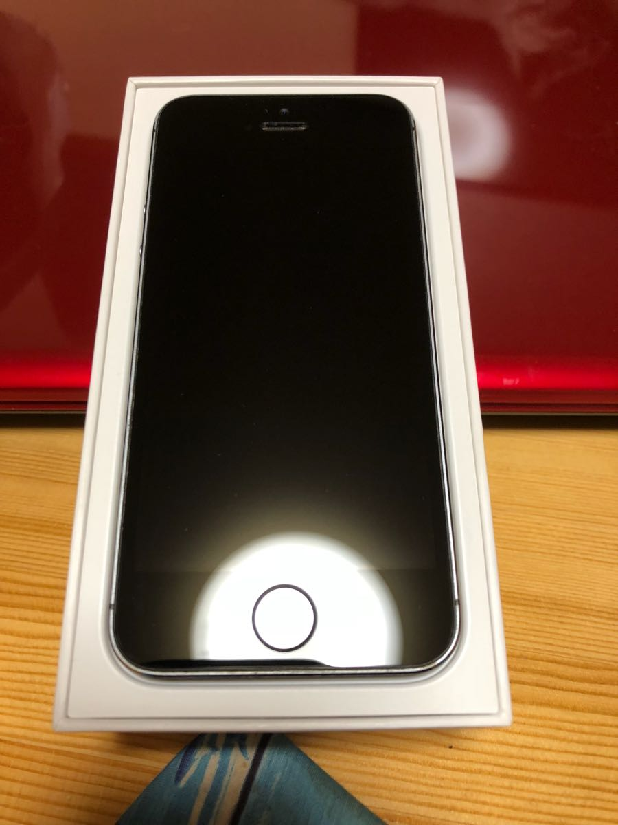 softbank iPhone5s 64gb 新品同様 残債無