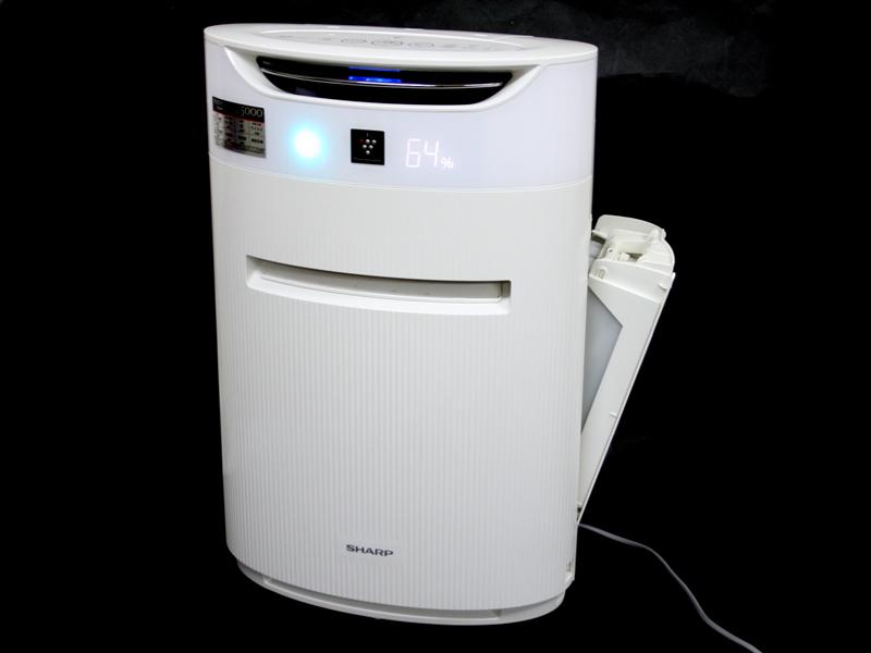 新品加湿フィルター付★脱臭、集塵フィルター交換済23畳対応プラズマクラスター25000搭載で空気を浄化 PM2.5も撃退シャープ加湿空気清浄機