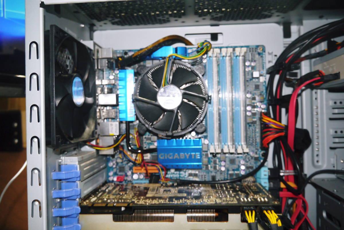 ★自作PC★ i7 920 メモリー 6GB//新SSD128GB+HDD1TB/GTX570//Windows10/★ _画像5