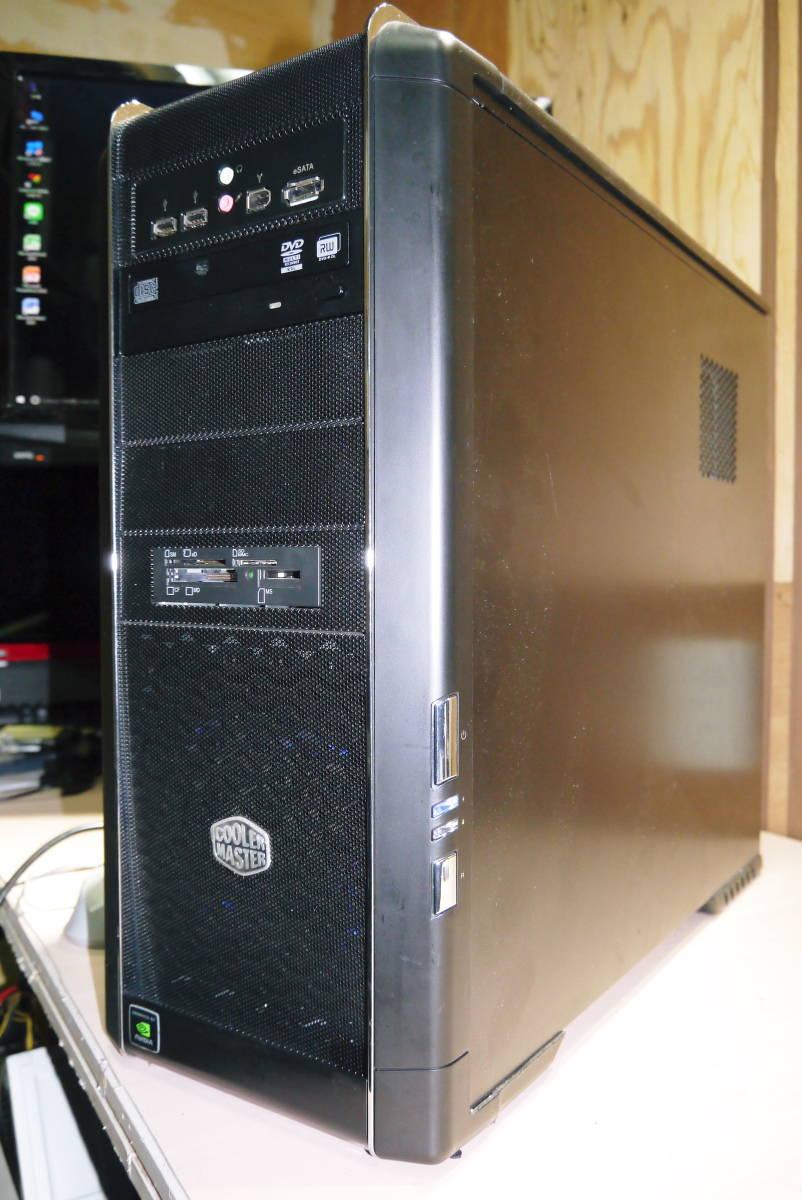 ★自作PC★ i7 920 メモリー 6GB//新SSD128GB+HDD1TB/GTX570//Windows10/★ _画像3
