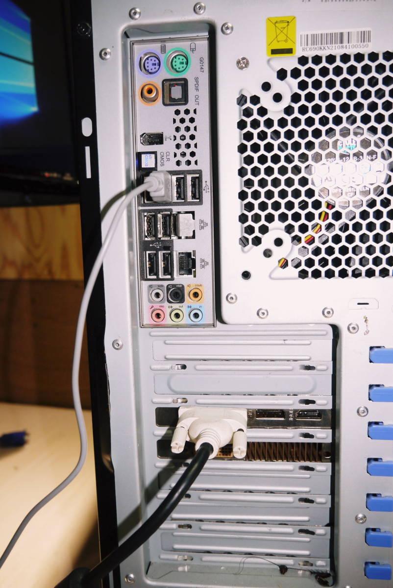 ★自作PC★ i7 920 メモリー 6GB//新SSD128GB+HDD1TB/GTX570//Windows10/★ _画像8