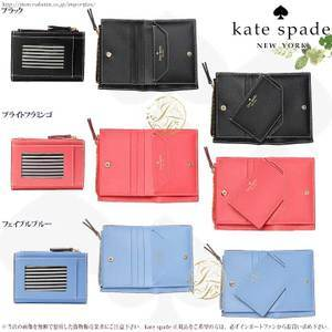 ケイトスペード 財布/ウォレット/カードケース 二つ折り レディース レザー PWRU6300