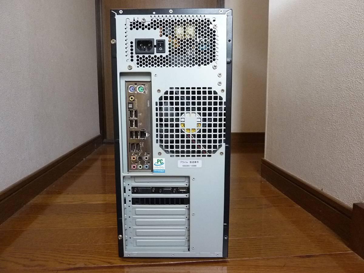 自作 i7-860 (2.80~ 最大3.46GHz) P55DE3 1TB 4GB GeForce GTS250 win10 win7 訳あり 動作確認済み_画像3