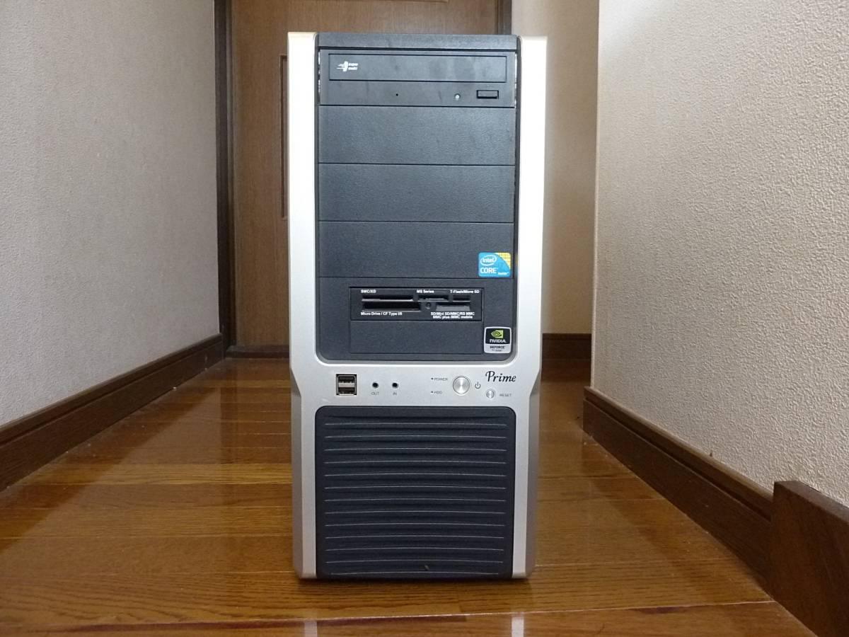 自作 i7-860 (2.80~ 最大3.46GHz) P55DE3 1TB 4GB GeForce GTS250 win10 win7 訳あり 動作確認済み_画像4