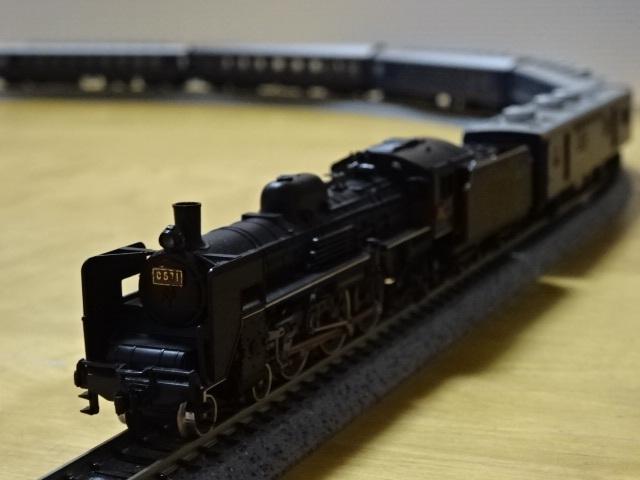 KATO Nゲージ 国鉄 10系 寝台急行客車11両/C57 1号機 蒸気機関車 室内灯付