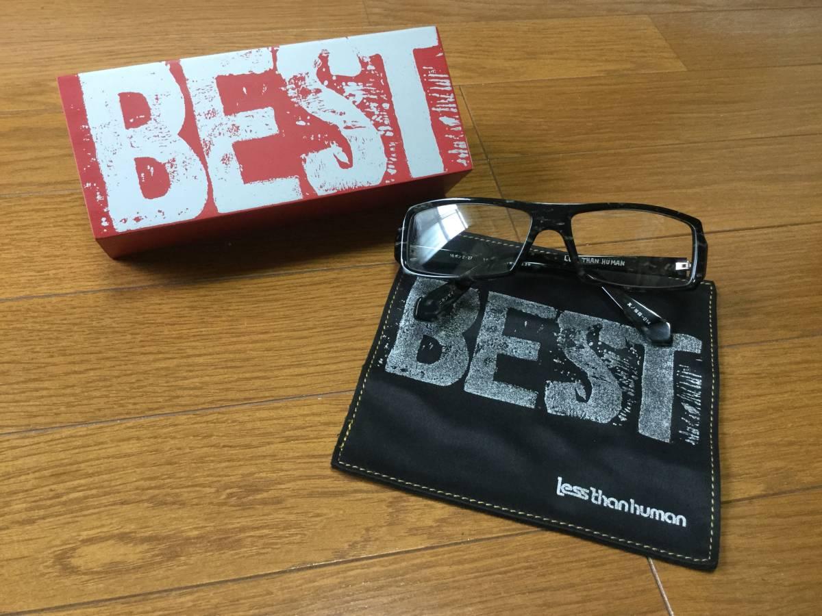 ★新品★定価29160円★less than human★レスザンヒューマンのメガネ眼鏡★16ポン2其ノ拾四★正規品_画像1
