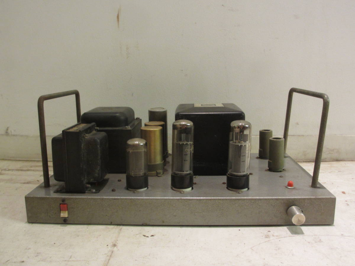 中古真空管アンプ(1) LUX 5A68 SANSUI サンスイ SW-50-5 C-5-250 トランス チョークコイル ジャンク