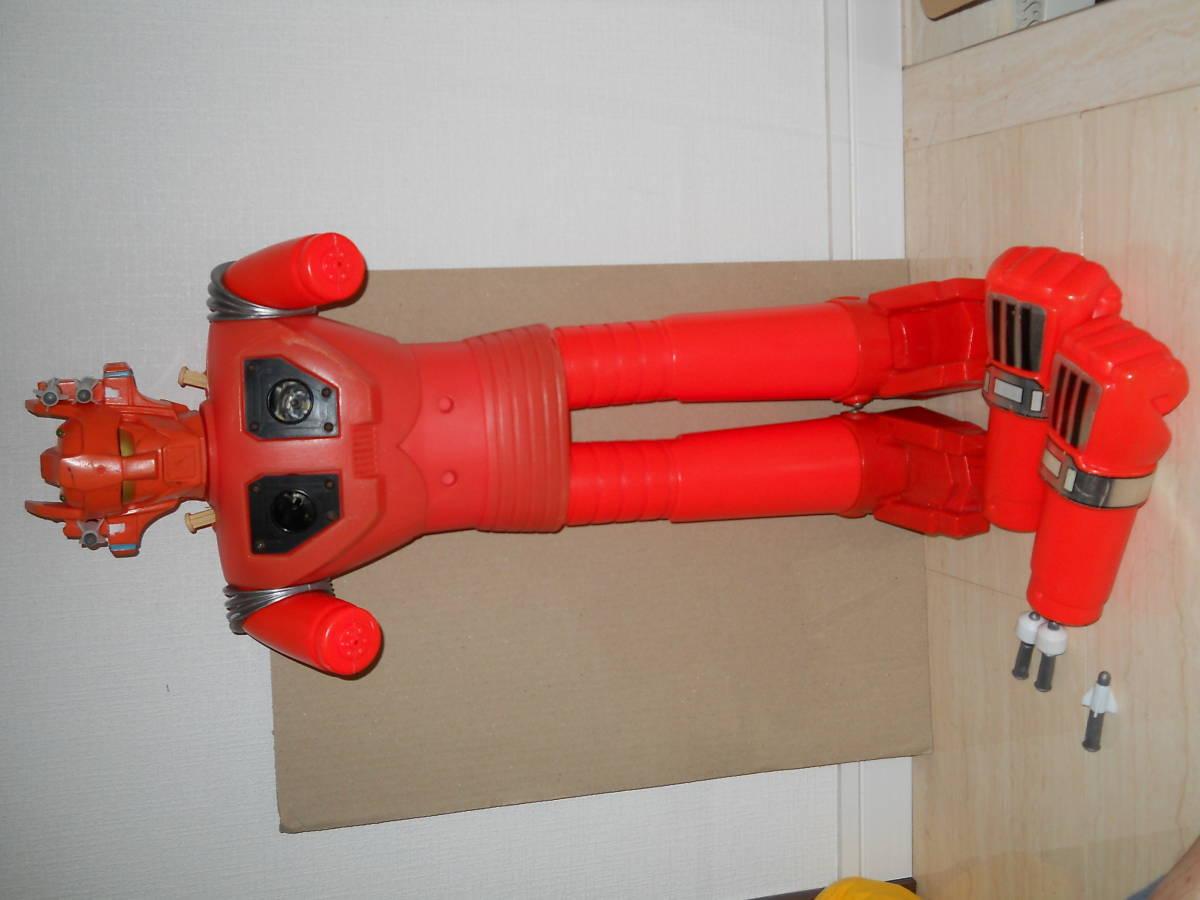 ジャンボマシンダー ポピー マッハバロン 本体 胸ミサイル2本 耳ミサイル4本_画像6