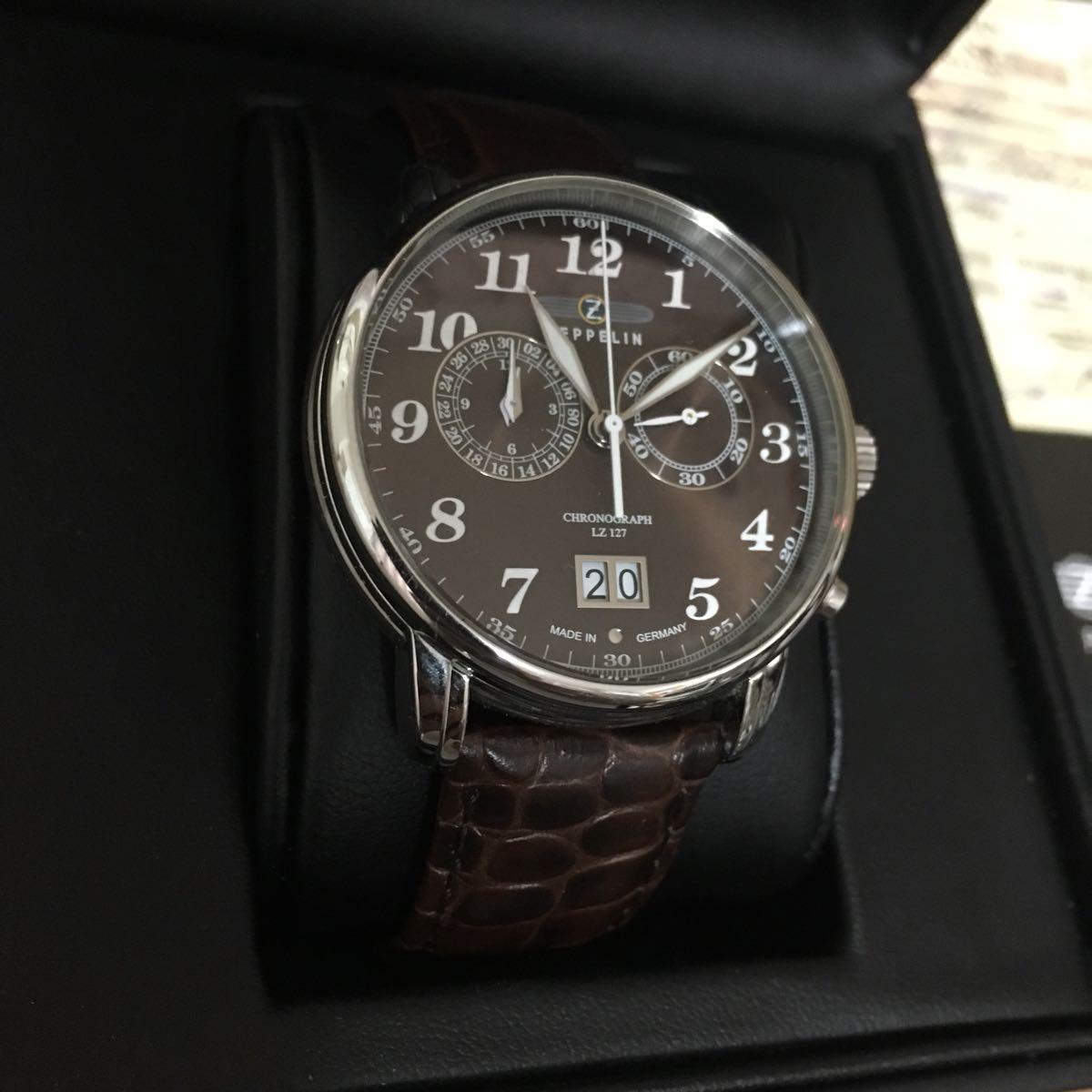 ツェッペリン 腕時計 メンズ 状態良好 クロノグラフ_画像2