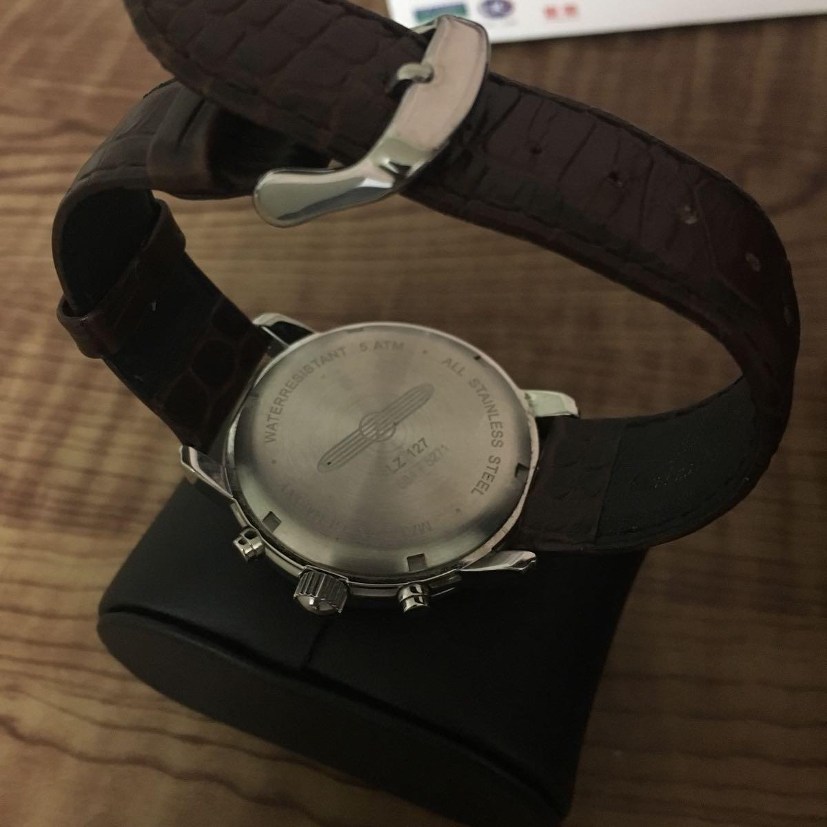 ツェッペリン 腕時計 メンズ 状態良好 クロノグラフ_画像3