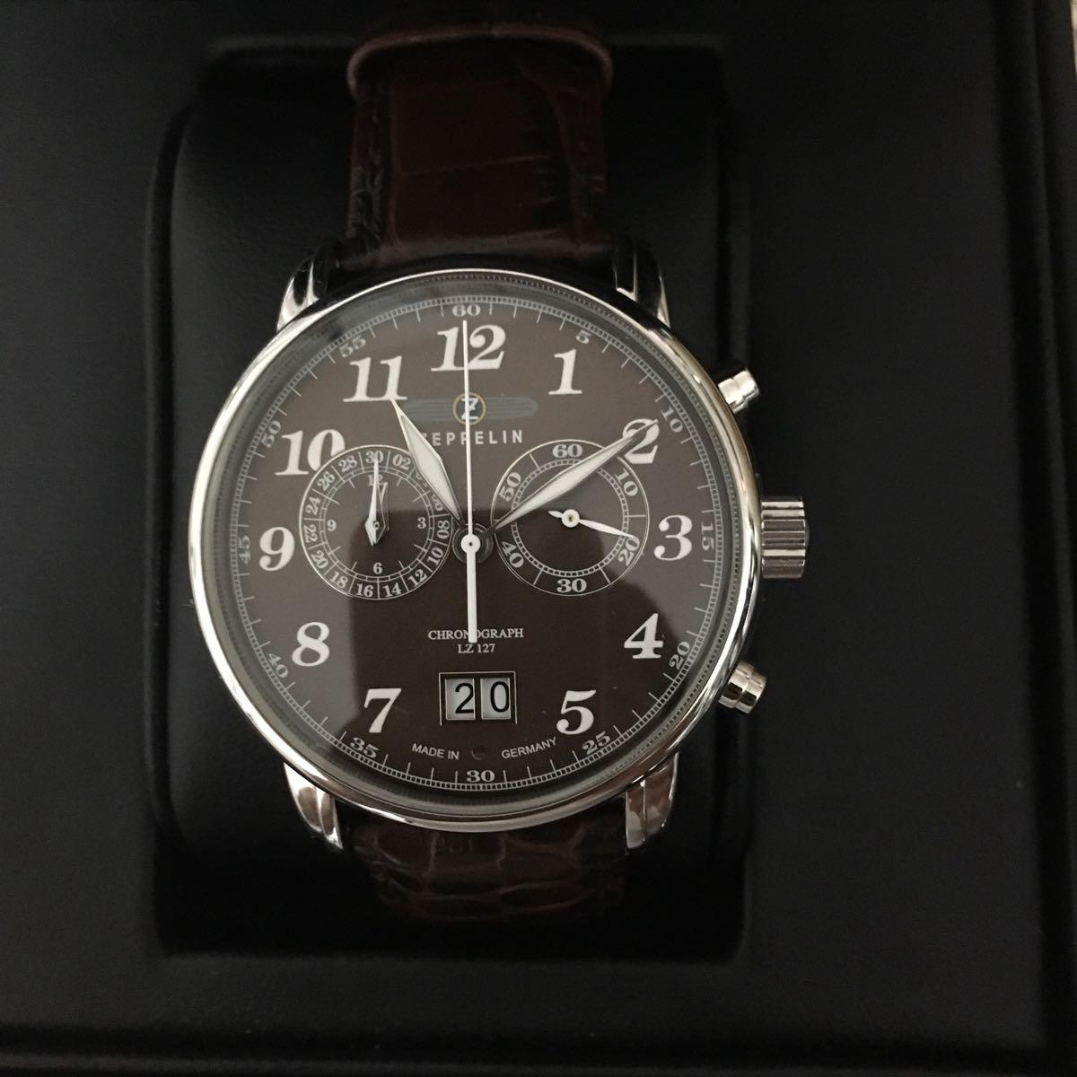 ツェッペリン 腕時計 メンズ 状態良好 クロノグラフ_画像6