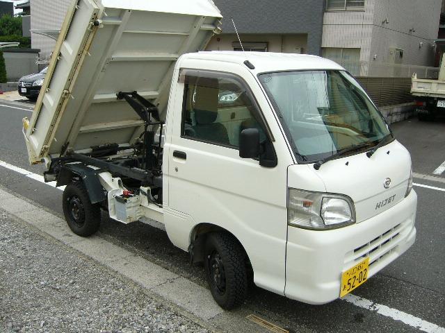 1円~ ハイゼットダンプ H24 31000km 検32/8月 ②オーナー PTO 極東 多目的 エアコン 4WD PS AC