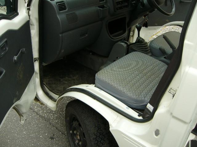 1円~ ハイゼットダンプ H24 31000km 検32/8月 ②オーナー PTO 極東 多目的 エアコン 4WD PS AC_画像6