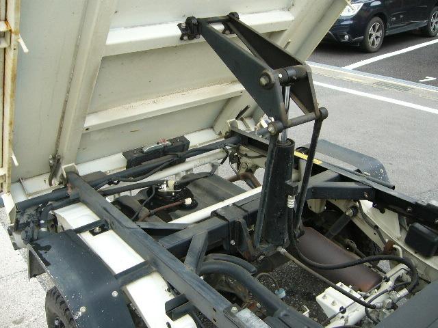 1円~ ハイゼットダンプ H24 31000km 検32/8月 ②オーナー PTO 極東 多目的 エアコン 4WD PS AC_画像7