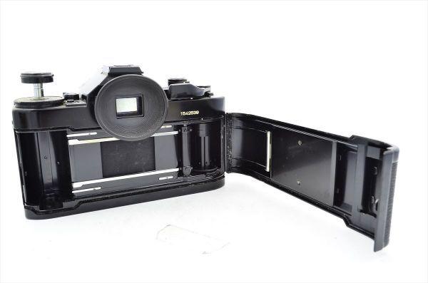 109 Canon キヤノン A-1 + FD 50mm F1.8 S.C 一眼レフカメラ フィルムカメラ_画像6