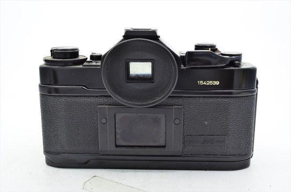 109 Canon キヤノン A-1 + FD 50mm F1.8 S.C 一眼レフカメラ フィルムカメラ_画像2