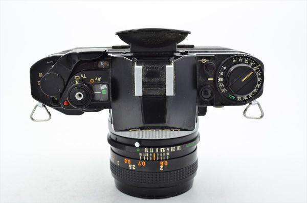 109 Canon キヤノン A-1 + FD 50mm F1.8 S.C 一眼レフカメラ フィルムカメラ_画像3