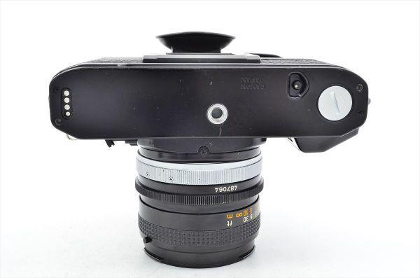 109 Canon キヤノン A-1 + FD 50mm F1.8 S.C 一眼レフカメラ フィルムカメラ_画像4