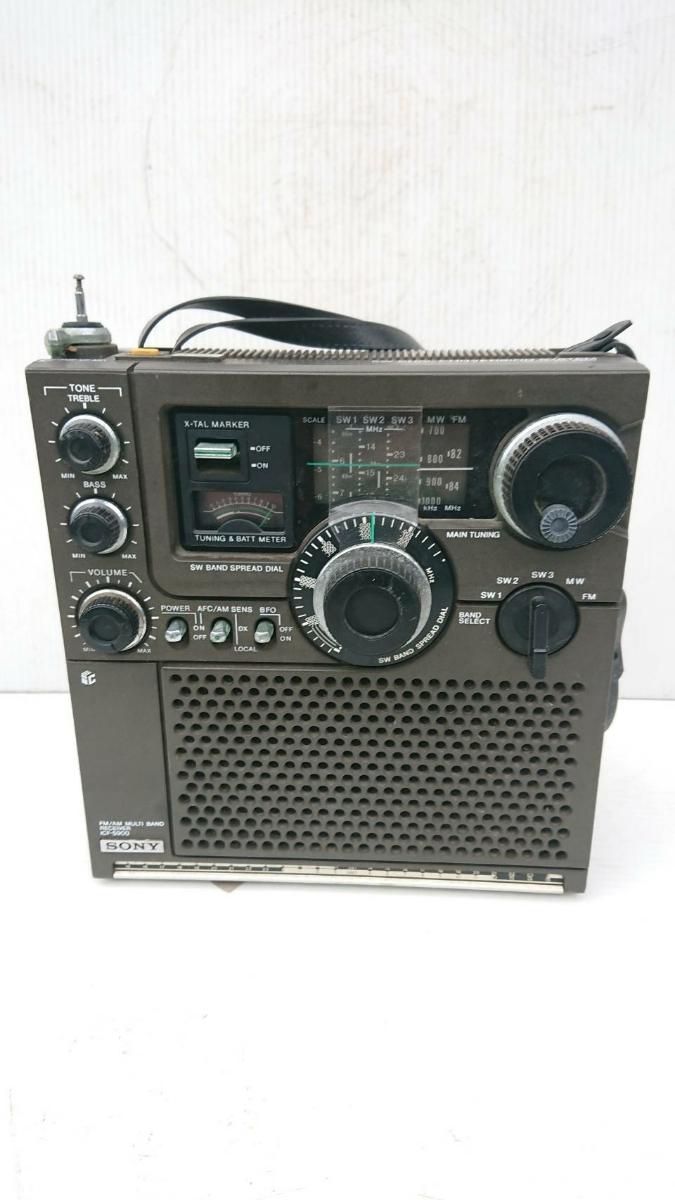 SONY ICF-5900 ジャンク アンティーク