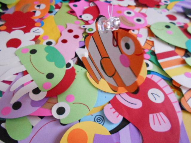 壁面飾り 魚  さかなつりゲーム 壁面装飾