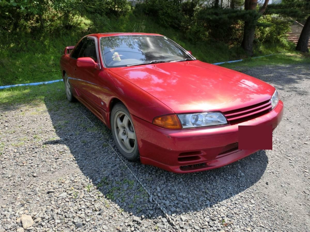 【岩手県発】平成5年 スカイラインクーペ ワインレッド HNR32 GTS-4【旧車の為、ご理解のある方のみご検討をお願いします。】個人発