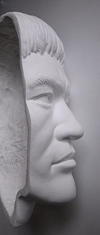 【貴重】ブルース・リーの石膏マスク【半額以下】_画像2
