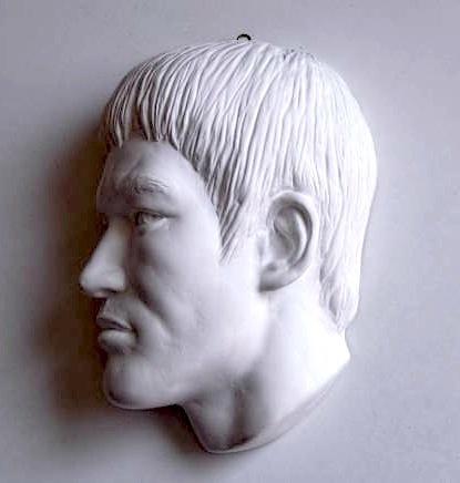 【貴重】ブルース・リーの石膏マスク【半額以下】_画像1