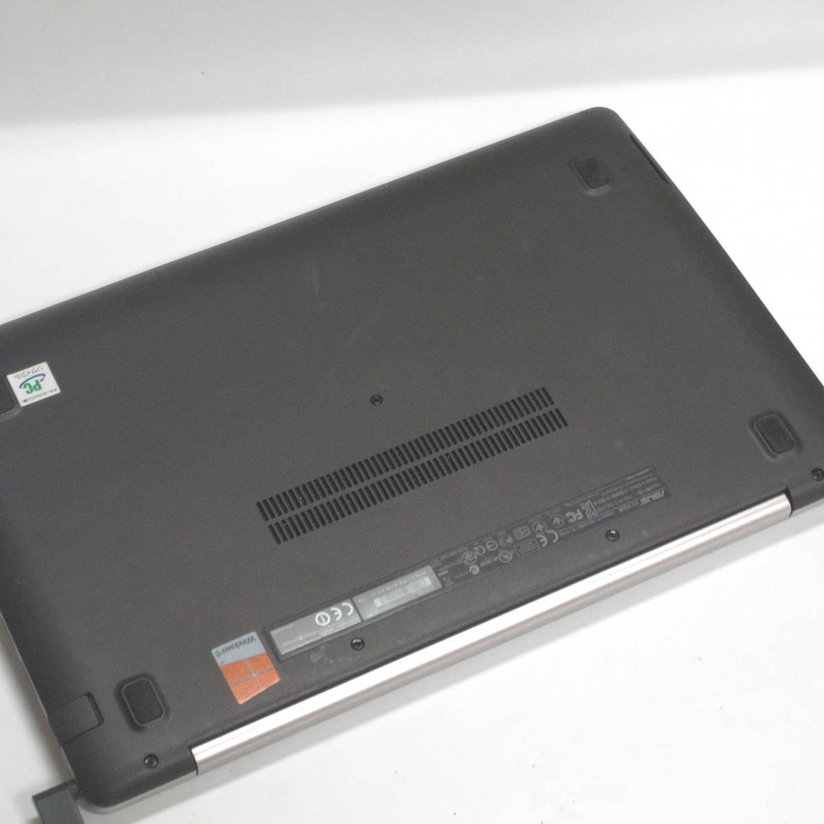 ASUS VivoBook X202E 送料無料 Core i3 1.8GHz 11インチタッチパネル液晶 メモリ4GB HDD500GB WIN10 #2_画像5