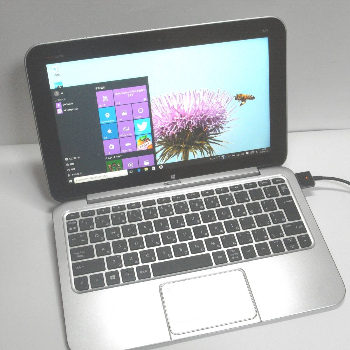 HP Envy TPN-P104 送料無料 タブレットPC+キーボード付き
