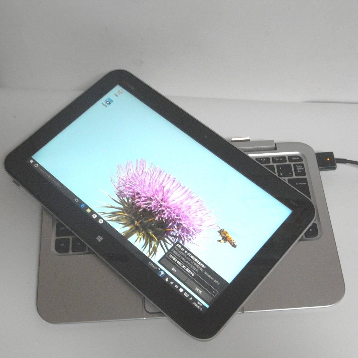HP Envy TPN-P104 送料無料 タブレットPC+キーボード付き_画像2