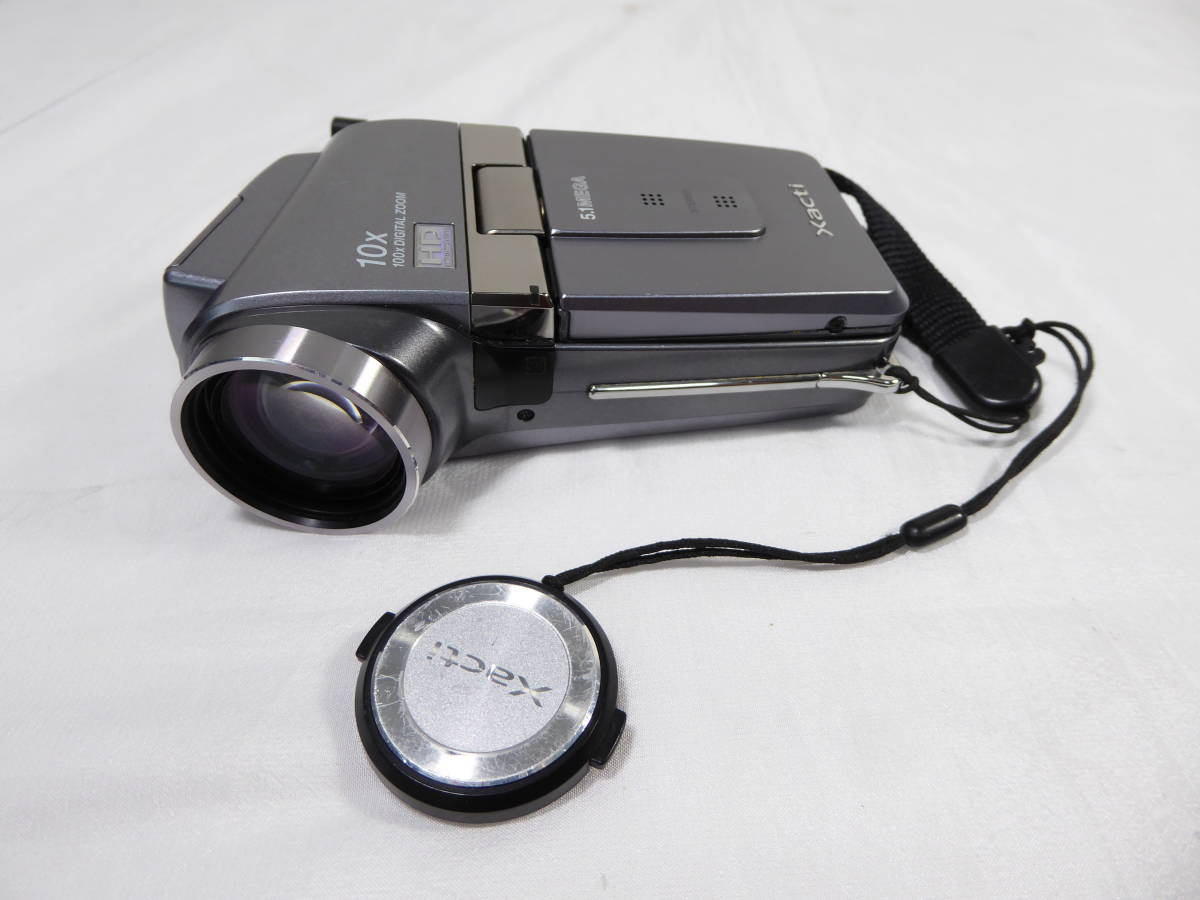 ビデオカメラ中古品 SANYO  【Xacti HD 5.1mega】_画像2