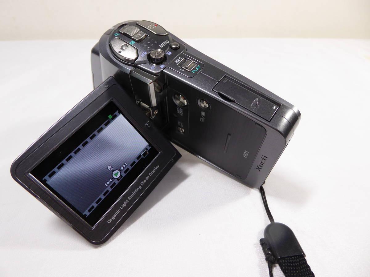 ビデオカメラ中古品 SANYO  【Xacti HD 5.1mega】_画像8
