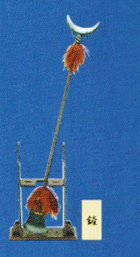捲簾大将 沙悟浄 降妖宝杖 月牙さん 武 もののふ MONONOFU 第八弾 西遊記 最遊記 水滸伝 PSO 1/6 ミニチュア 武器 ドール クールガール_画像3