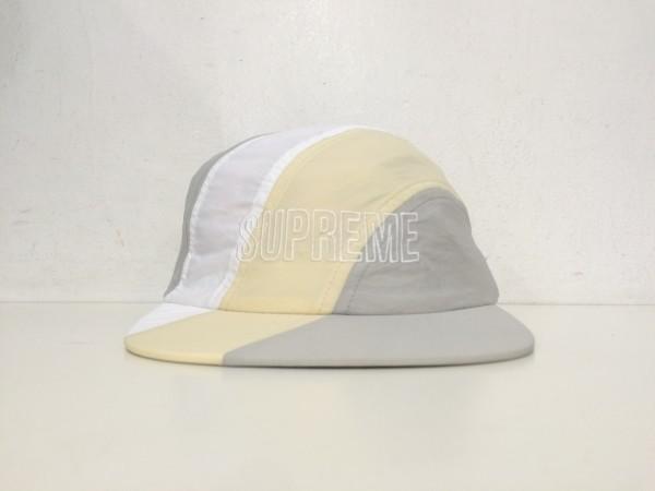 1c3696585da SUPREME DIAGONAL STRIPE NYLON HAT diagonal stripe nylon cap cap 2018 18SS  white 1005-7