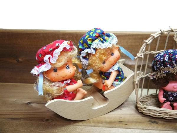 当時物 昭和レトロ ソフビ人形 4個 ブランコ ビンテージ 古い おもちゃ 玩具 レトロ人形 コレクション 年代物 ヴィンテージ 希少 レア_画像2