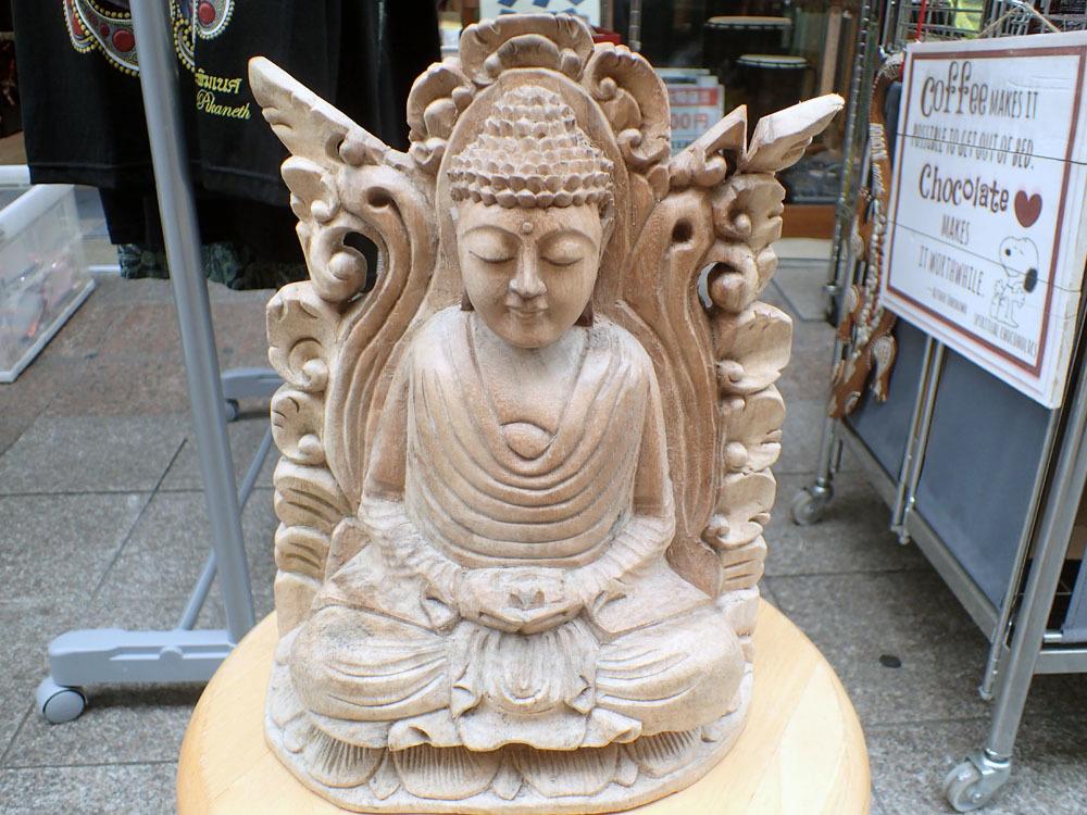 阿弥陀如来像 (木彫り)_1,726g