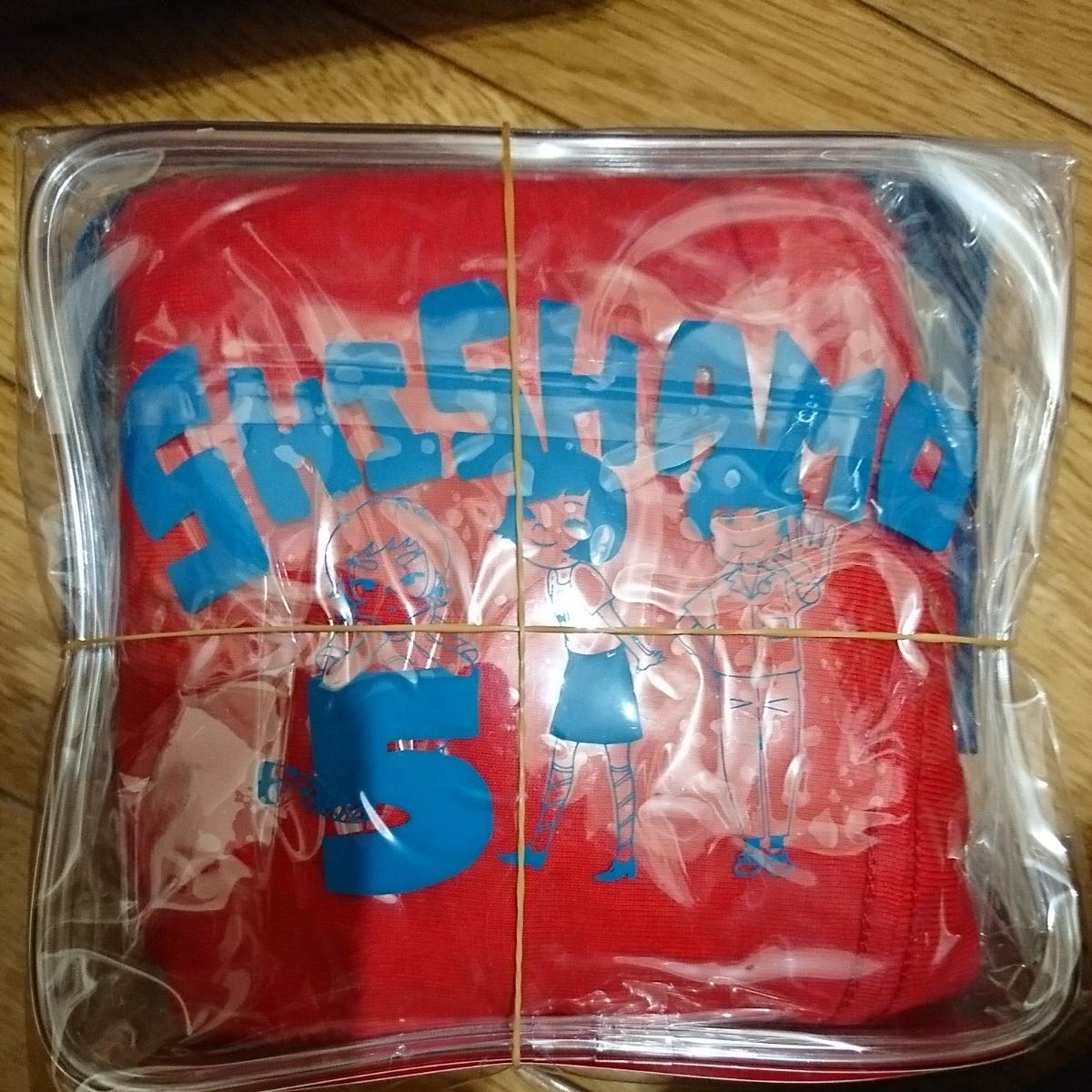 [新品未開封] SHISHAMO 5 NO SPECIAL BOX(完全生産限定盤)(グッズ付:Tシャツ+ビニールポーチ) Limited Edition