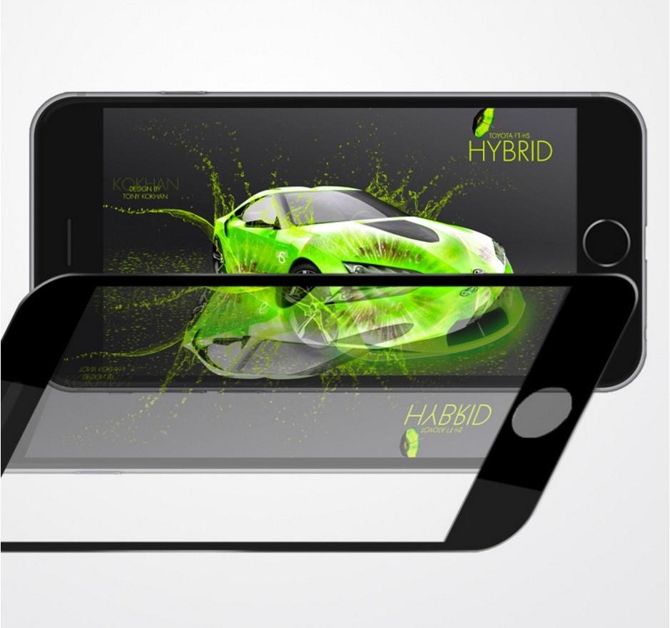 51e9930149 ネコポス送料無料 iPhone 5/5S/SE/6/6s/Plus専用鏡面ガラスフィルム黒色 ...