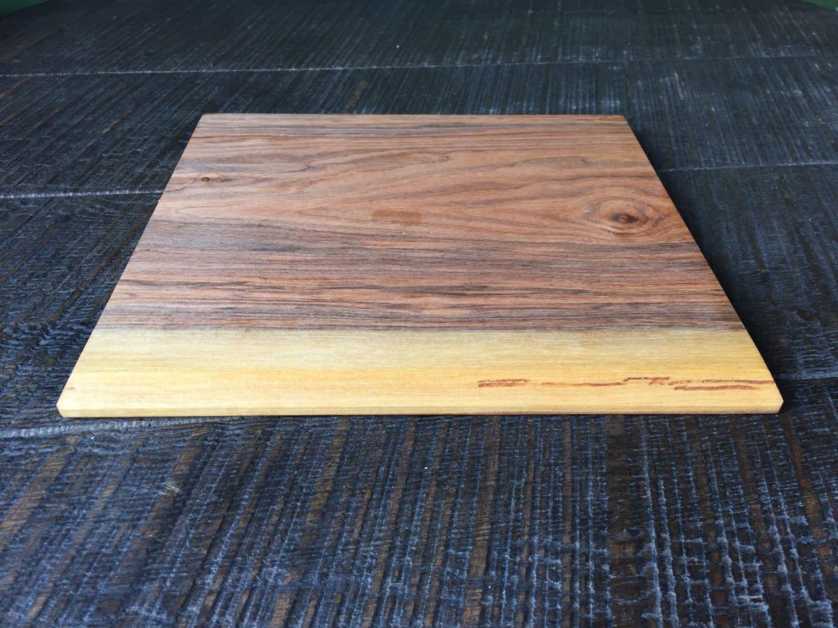 レア 新品 小沢賢一 トレー カッティングボード 木工 作家 出産祝い 北欧 チーク 無垢 カフェ アウトドア ハンドメイド セール_画像4