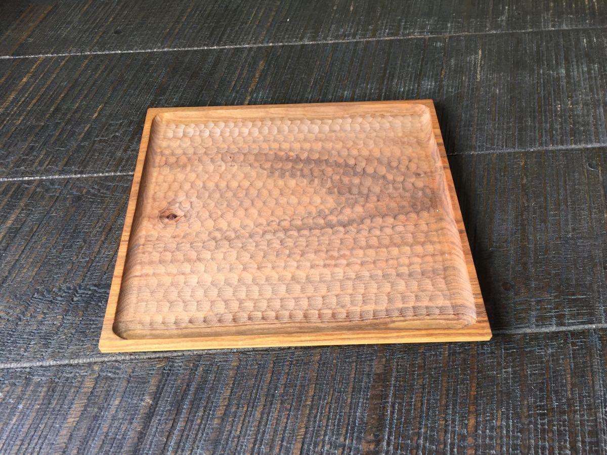 レア 新品 小沢賢一 トレー カッティングボード 木工 作家 出産祝い 北欧 チーク 無垢 カフェ アウトドア ハンドメイド セール_画像1