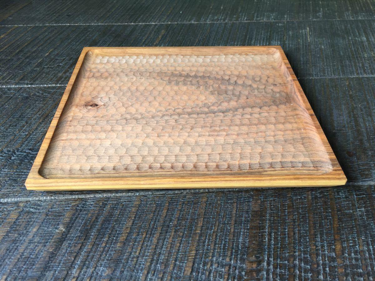 レア 新品 小沢賢一 トレー カッティングボード 木工 作家 出産祝い 北欧 チーク 無垢 カフェ アウトドア ハンドメイド セール_画像2