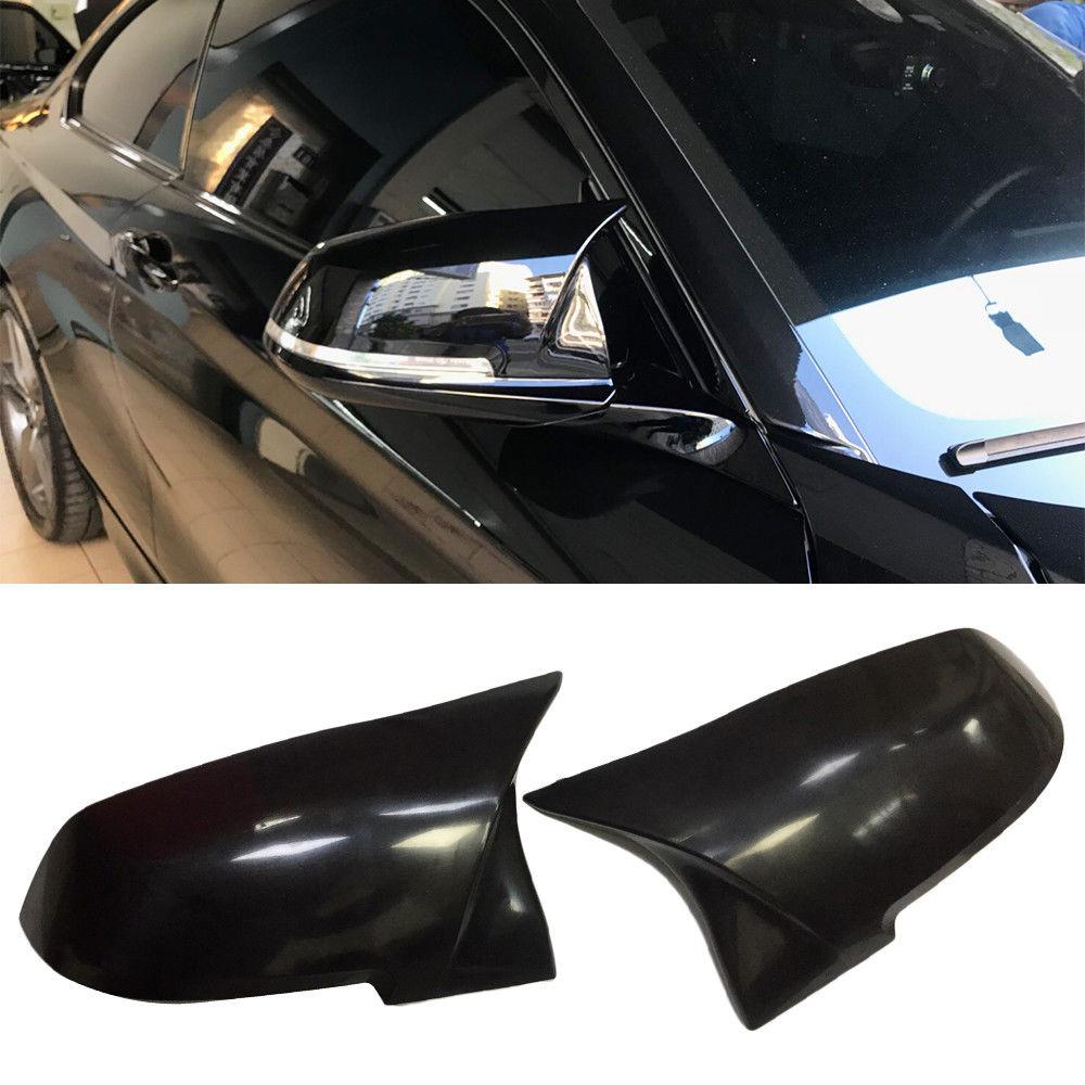 BMW 1 2 3 4シリーズ ドアミラーカバー交換式 ABS 艶有黒ブラック F20 F21 F22 F23 F87 F30 F31 F34 F32 F33 F36 E84_画像3