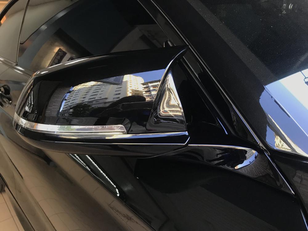 BMW 1 2 3 4シリーズ ドアミラーカバー交換式 ABS 塗装色付 F20 F21 F22 F23 F87 F30 F31 F34 F32 F33 F36 E84_画像9