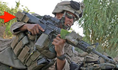 新品同様 米軍放出品 USMC 米海兵隊 M16/M4 High Speed Reload スピードリロード マガジンポーチ セット MARSOC RECON MEU FSBE OTV_画像6