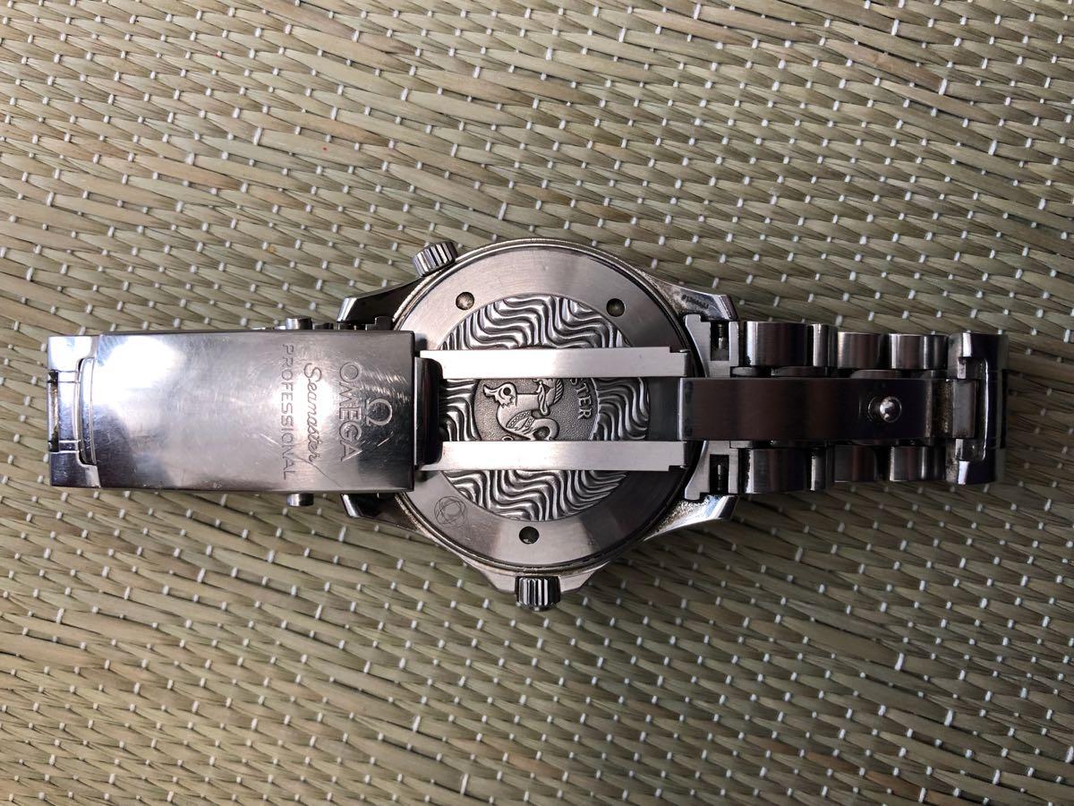 オメガ シーマスター 自動巻 腕時計 中古 本物正規品 Omega Sea master_画像7