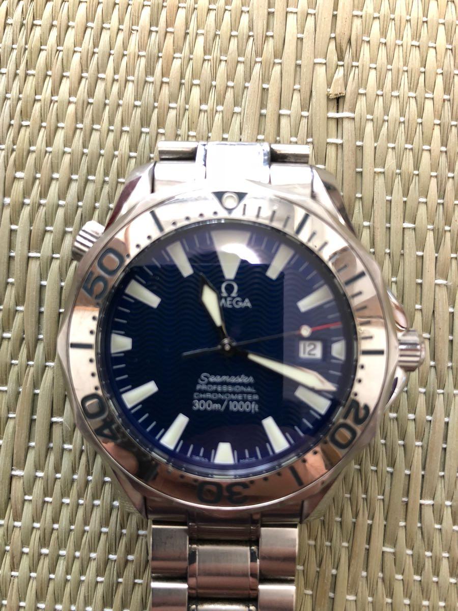 オメガ シーマスター 自動巻 腕時計 中古 本物正規品 Omega Sea master_画像3