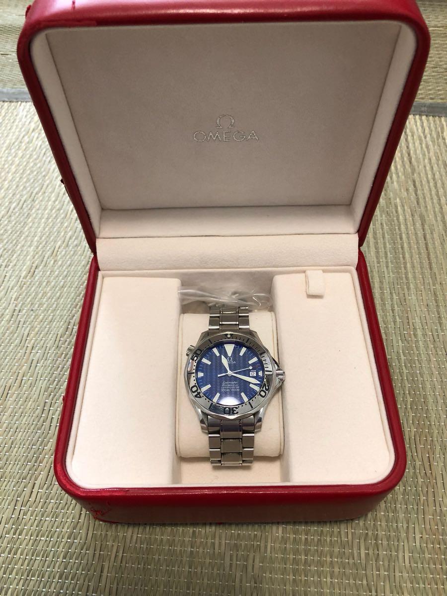 オメガ シーマスター 自動巻 腕時計 中古 本物正規品 Omega Sea master