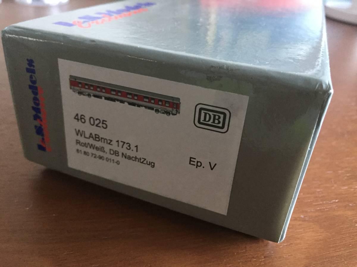 LS.Models 46025 DB WLABmz 173.1 ドイツ鉄道 1,2等寝台車_画像7