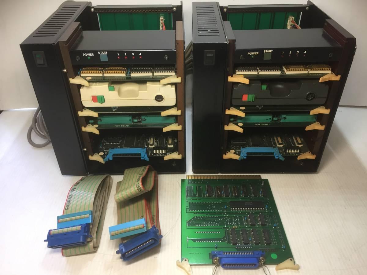 PCエンジン開発機  Hu7 SYSTEM 1987 HUDSON SOFT まとめてジャンク品2台!